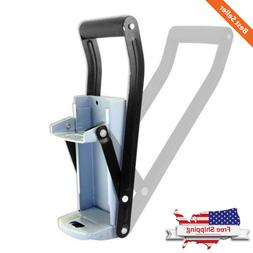 12/16 oz Wall Mounted Steel Can Crusher For Aluminum Contain