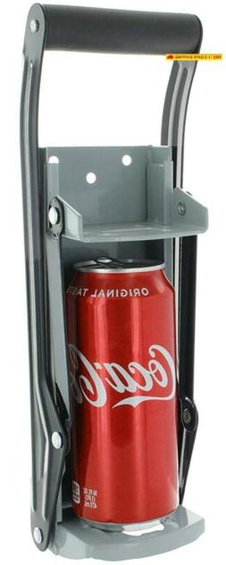 Vanitek 16 Oz Aluminum Can Crusher  Bottle Opener | Heavy Du