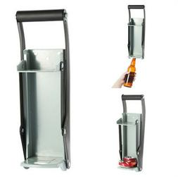 16oz can crusher heavy duty metal can