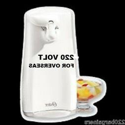 Oster 3125 Electric Can Opener, 220 Volts ,White