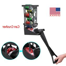 Aluminum Can Crusher Crush 10 Cans in 10 Seconds High Streng