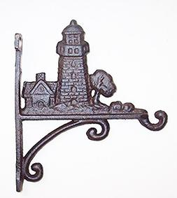 Aunt Chris' Products - Heavy Cast Iron - Lighthouse Hook - W