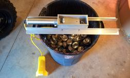 can crusher, air tool, model 2.0 w/ foot control and mountin
