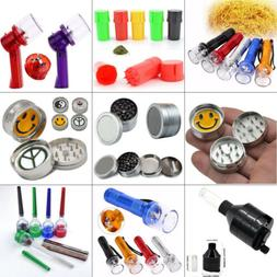 Herb/Spice/Herbal Smoke Crusher Plastic Alloy Grinder Can Cr