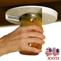 Jar Opener for Weak Hands Under Cabinet Lid Openers for Seni