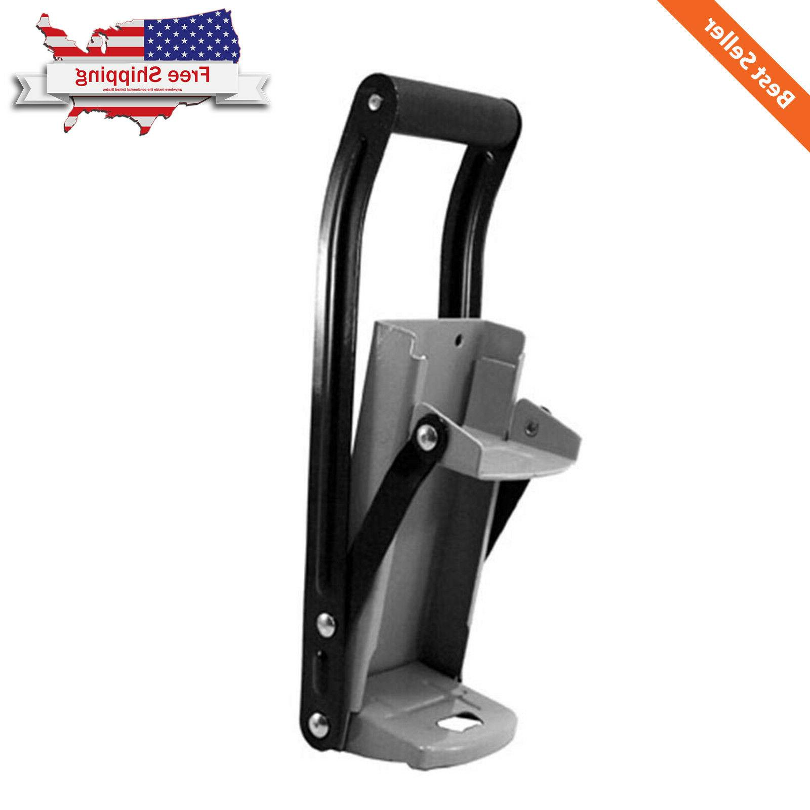 12/16 Wall Mounted Steel Crusher Aluminum Opener