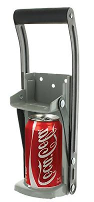 12 oz aluminum can crusher and bottle