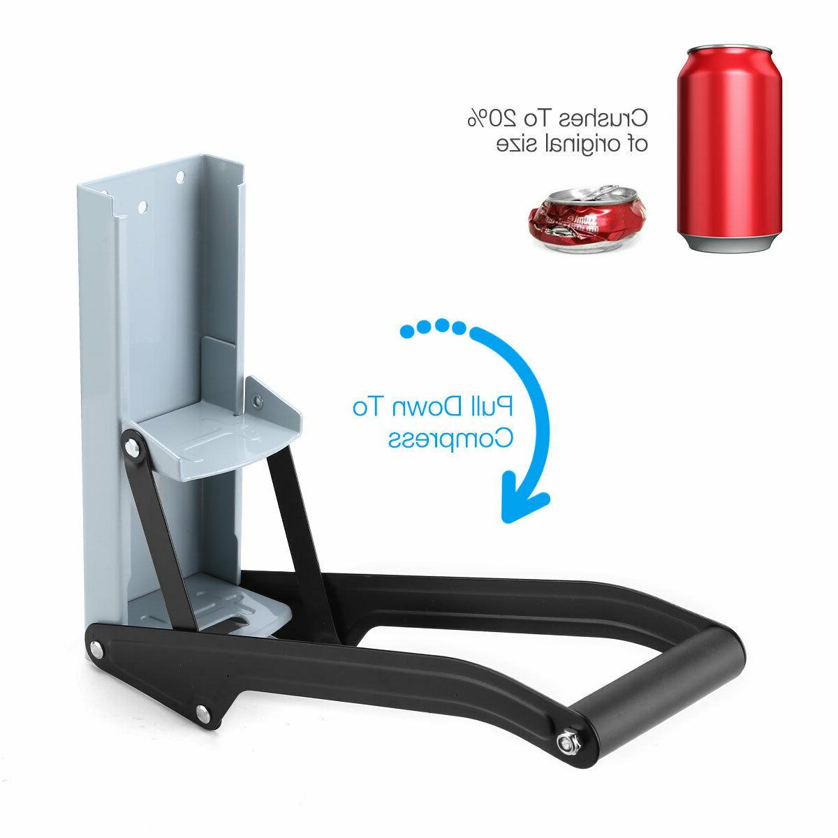 Heavy Duty Aluminum Can Crusher / up to FREE