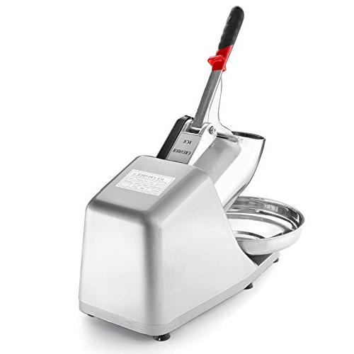 Flexzion Commercial Machine 180W Shaved Electric Blade Icee Hand Push Slice Use