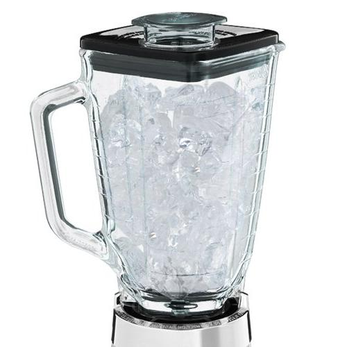 Oster 4093-008 5-Cup Glass Jar 2-Speed Beehive Brushed