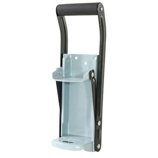 LARGE CAPACITY 12 OZ CAN CRUSHER WITH BOTTLE OPENER GREEN RE