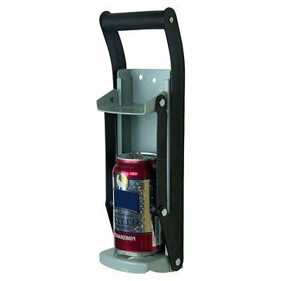 heavy duty aluminum can crusher bottle opener