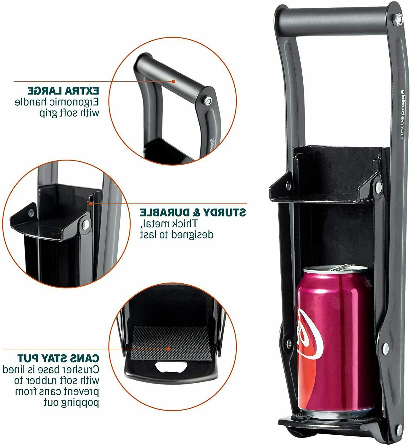 Can Wall Mounted Recycling Smasher 12oz