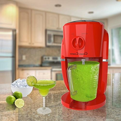 Frozen Maker, and Ice Crusher Machine for Daiquiris, Shaved or Desserts by Classic Cuisine
