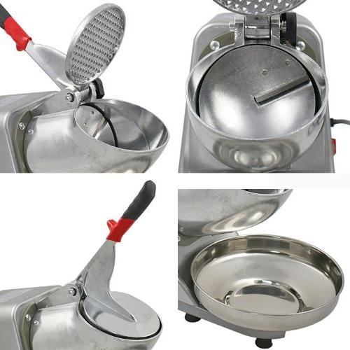 Electric Snow Stainless Shaved Machine 145lbs Per