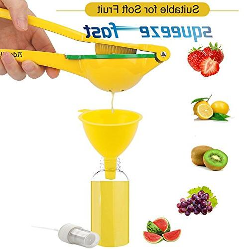 Ado Manual Squeezer Premium Lime Aluminum Citrus Sprayer