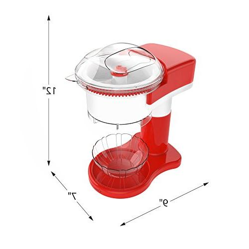 Shaved Ice Cone, Ice, and Slushy Use, Electric Shaver/Chipper Cup by Classic