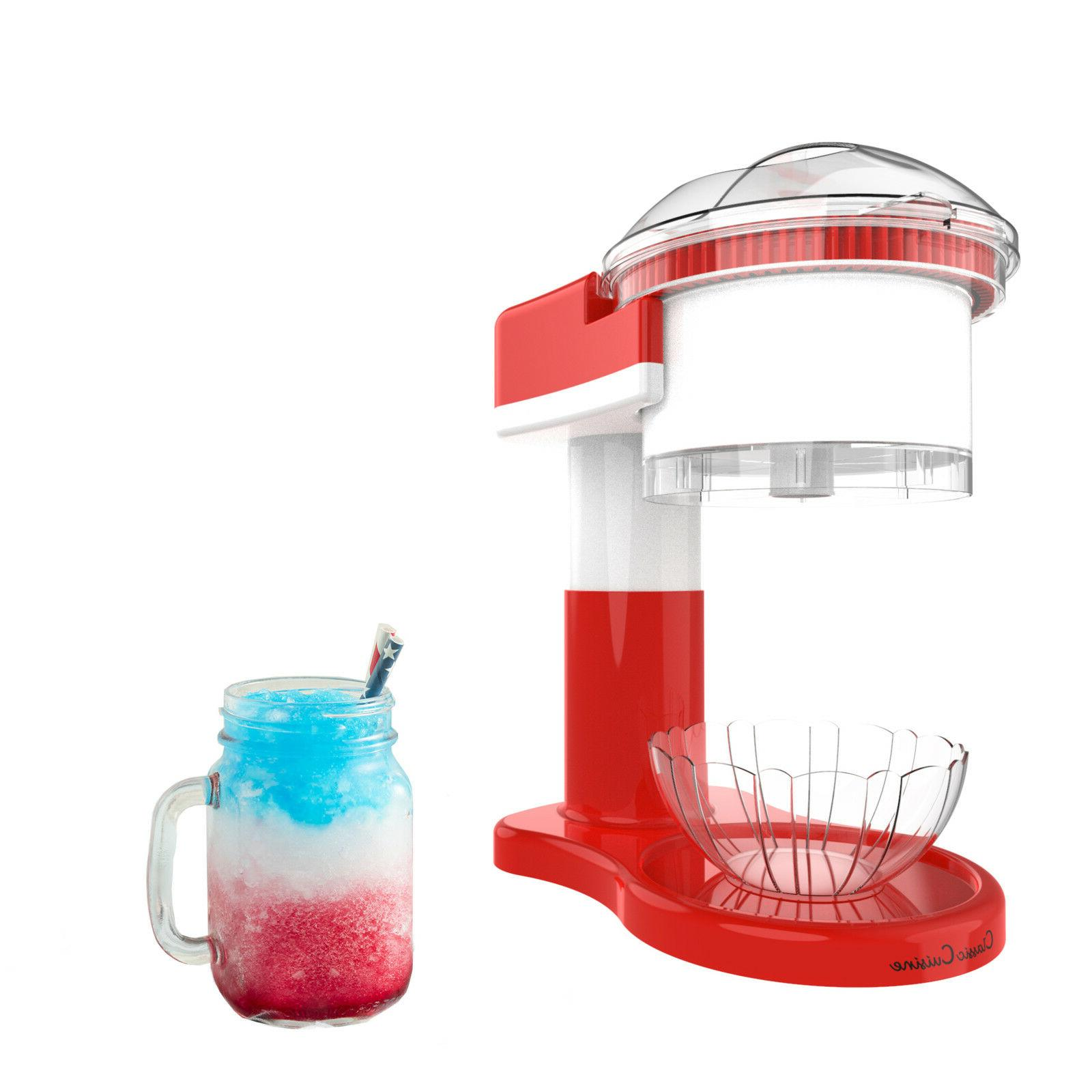 shaved ice maker snow cone