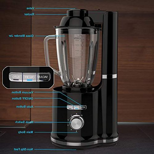 High Speed Processor Juice Smoothie Ice Crusher One-Click Function