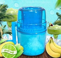 Manual Ice Crusher Shaved Ice Machine Portable Ice Breaker,N