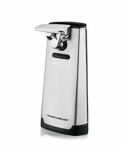 New  Hamilton Beach Stainless Steel Electric Can Opener
