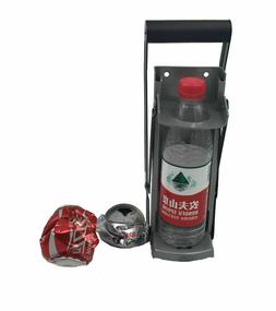 Plastic Crusher With Handle Grip Easy Use Bottle Can Wall Mo