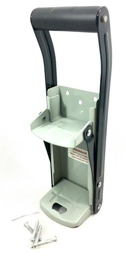 Recycling Can Crusher Deluxe Heavy Duty New Wall Mount Man-c