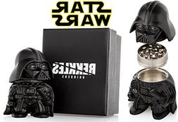 Star Wars Herb Grinder, Darth Vader Grinder, Perfect Size 2""