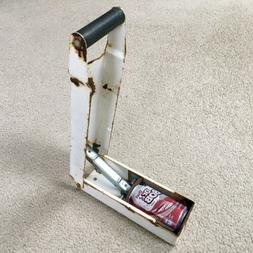 Vintage THE CRUSHER Aluminum Can Crusher - Wall Mount Heavy